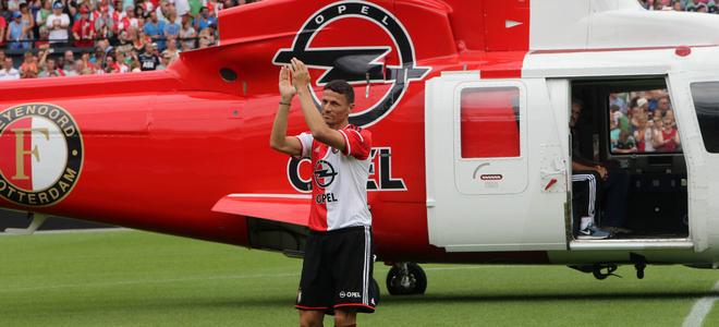 Jens Toornstra op weg naar 1e training