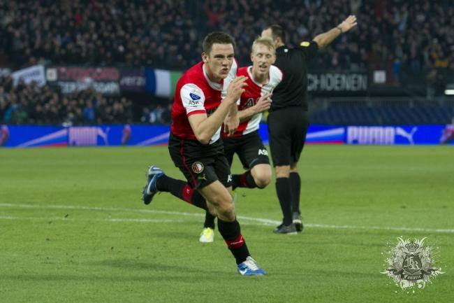 Feyenoord-supporters gestrand in Polen