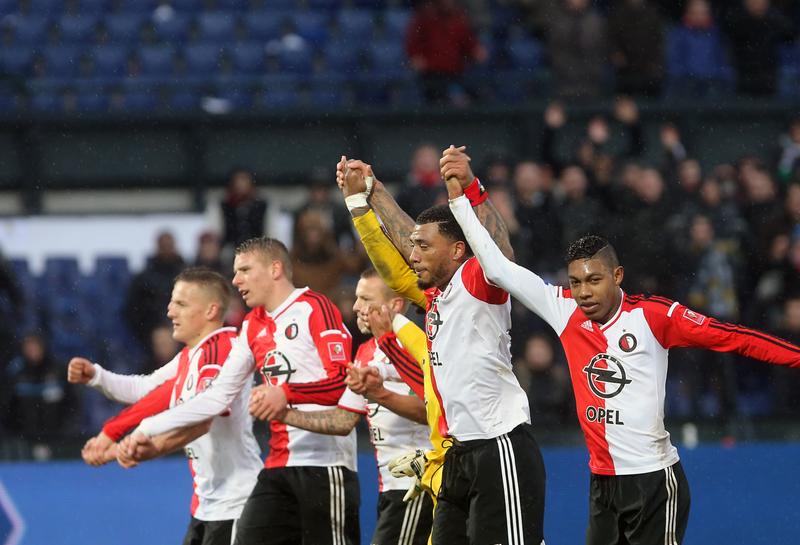 Ben gelukkig door het goeie virus besmet, het Feyenoord virus