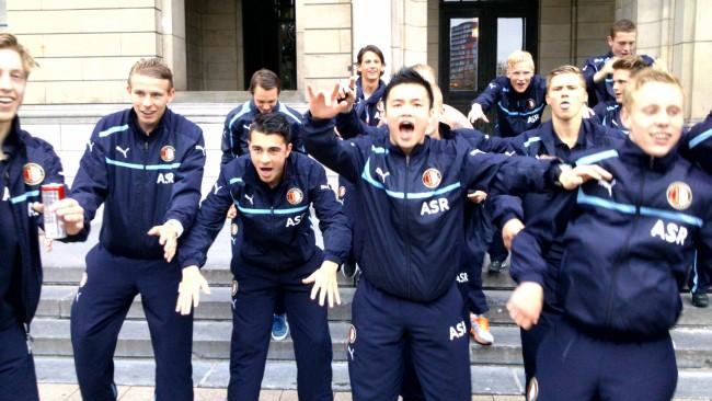 Vijf Feyenoorders op trainingsstage met Oranje onder 19