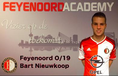 Vermeer signeert Feyenoord-shirt met 'Fuck nul 20'