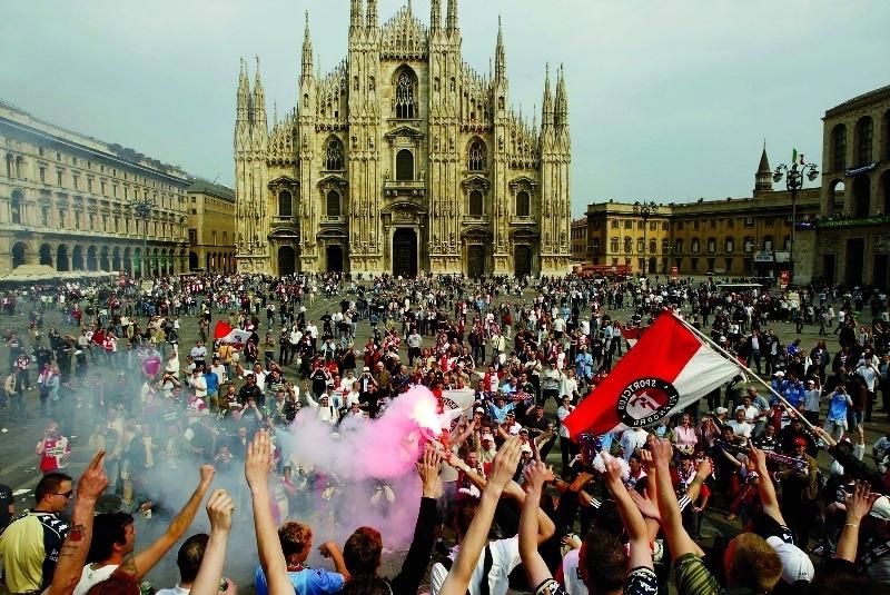 Politie Rome verwacht geen problemen met Feyenoordfans