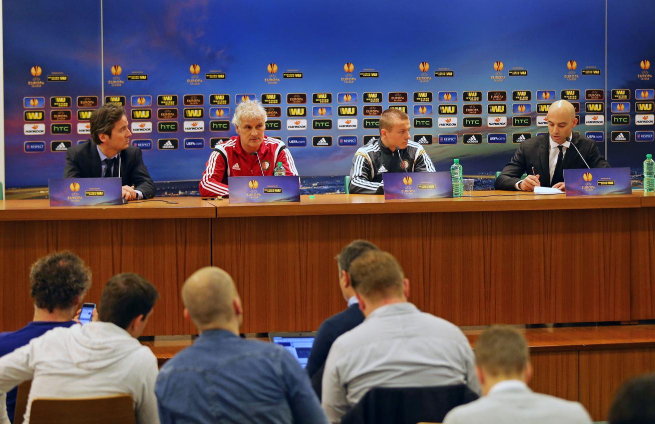 Dennis van Eersel in Rome over AS Roma-Feyenoord