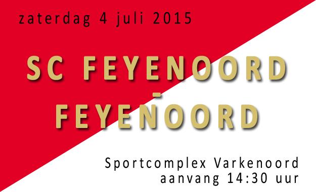 Definitief speelschema: Feyenoord begint thuis tegen FC Utrecht