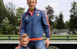 Kuyt verrast Feyenoord-pupillen