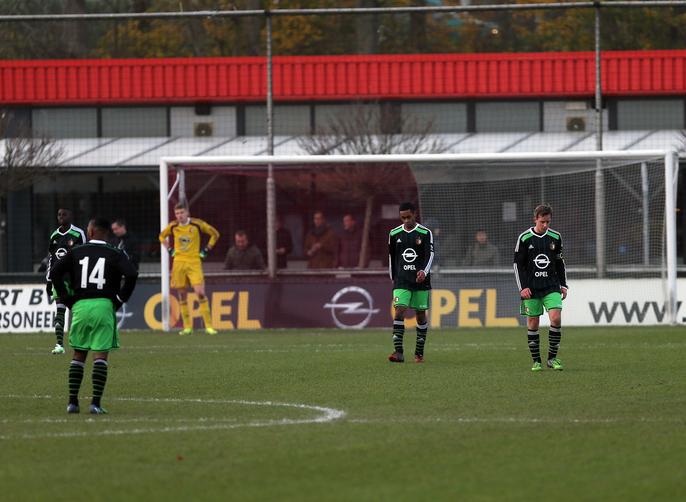 Uitslagen Feyenoord Junioren 12 en 13/12