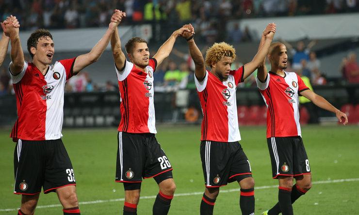 Feyenoord-FC Utrecht   Opstelling