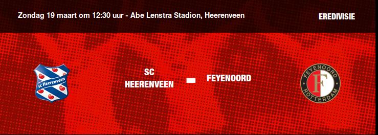 Veel steun voor Feyenoord in Friesland