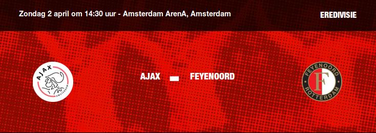 Titelrace open na kansloos verlies Feyenoord in Arena