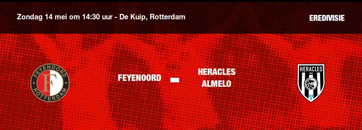 Rotterdam klaar voor kampioenschapswedstrijd - Alcoholcontrole op R'dam CS