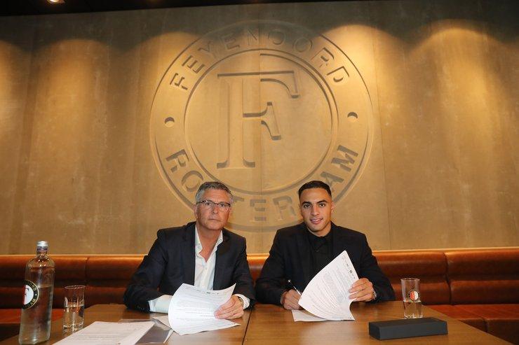 Sofyan Amrabat is officieel Feyenoorder