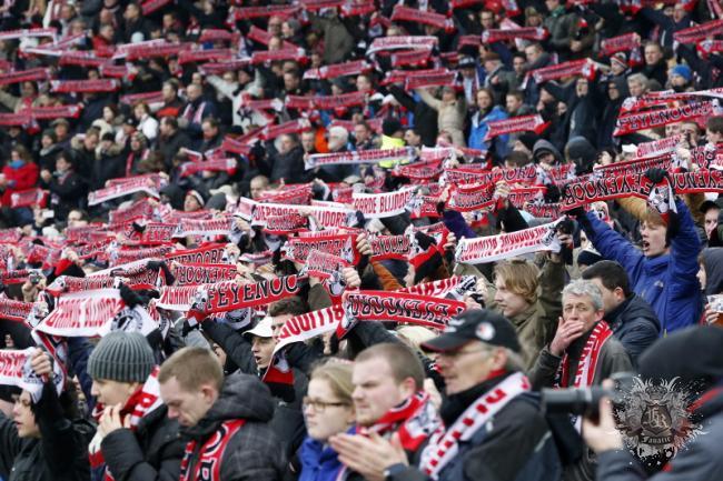 Feyenoord thuis-gekkenhuis! Samen als 1 blok achter Feyenoord!