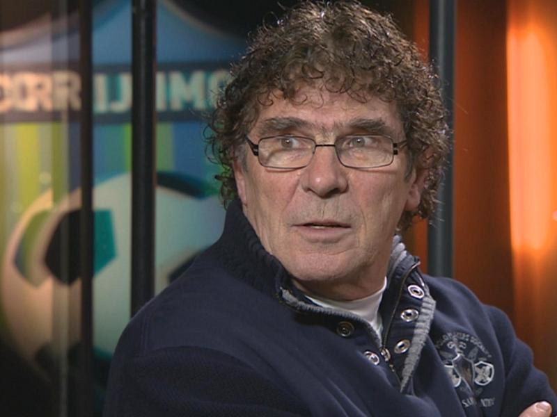 Willem van Hanegem te gast  in FC Rijnmond