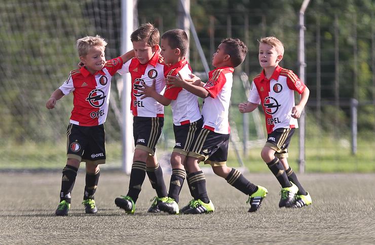 1200 kinderen laten kunsten zien bij talentendagen Feyenoord