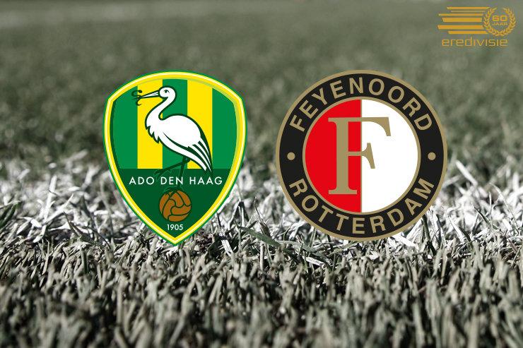 Matchday | ADO Den Haag-Feyenoord | Opstelling