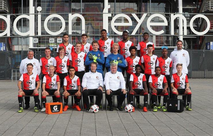 Feyenoord B1 boekt opnieuw ruime uitzege